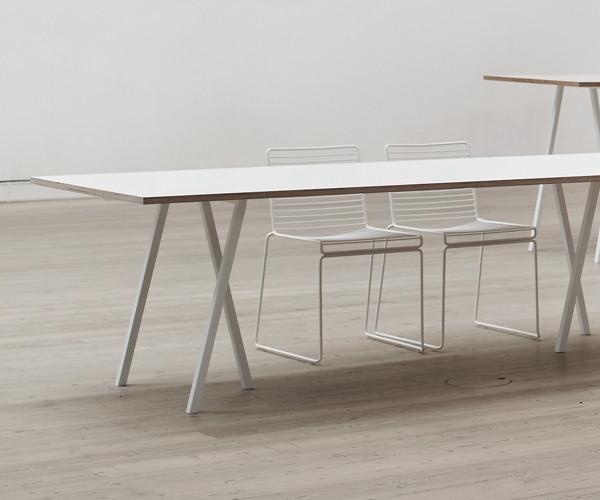 hay bord loop spisebord skrivebord 200 cm. Black Bedroom Furniture Sets. Home Design Ideas