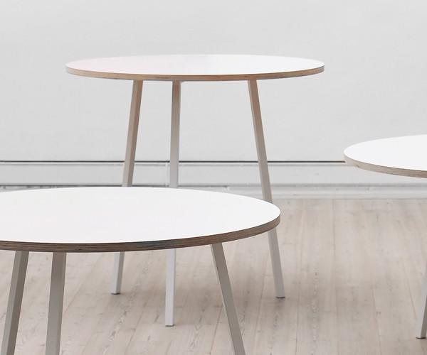 Hay loop stand bord (stå bord) (rundt)   spiseborde   borde