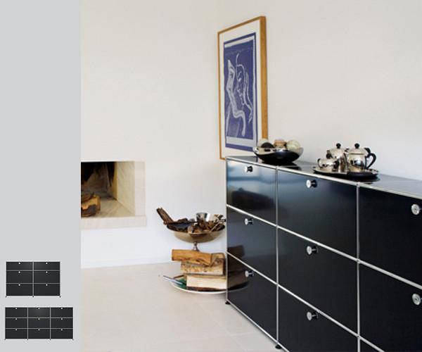 usm haller hifi m bel tv hifi opbevaring. Black Bedroom Furniture Sets. Home Design Ideas