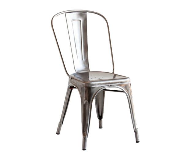 tolix a chair metal spisestole stole. Black Bedroom Furniture Sets. Home Design Ideas