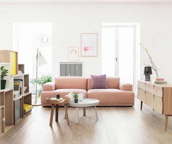 Muuto connect sofa m open end   modul & hjørne sofaer   sofaer