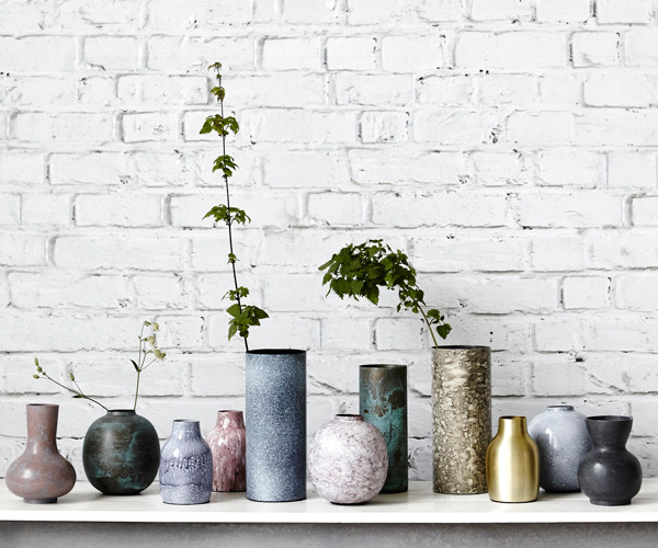 house doctor effect vase antikgr n. Black Bedroom Furniture Sets. Home Design Ideas
