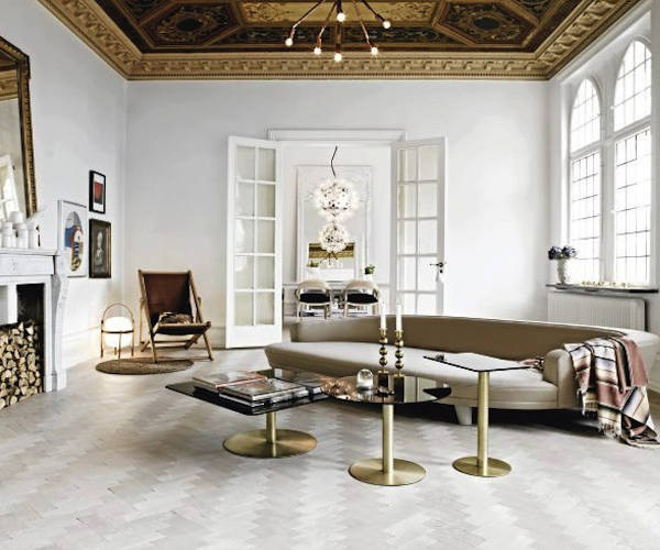 Tom Dixon Flash Table Rectangle Messing Sofaborde Borde