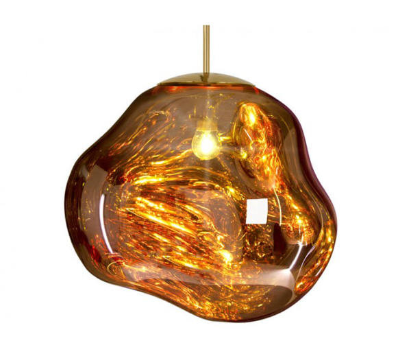 tom dixon melt shade gold pendel belysning. Black Bedroom Furniture Sets. Home Design Ideas