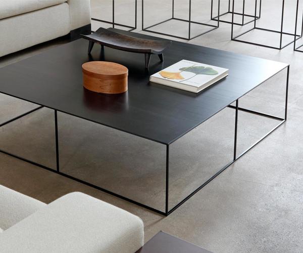 sort firkantet sofabord