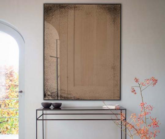 Notre Monde Light Aged Bronze spejl - væg