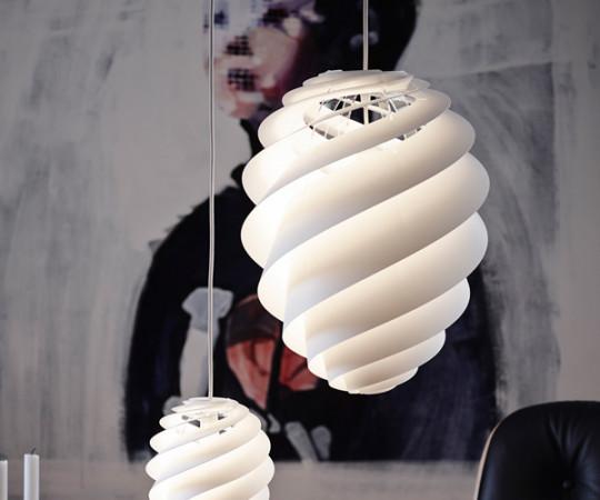 Le Klint Swirl 2 - Medium - Hvid
