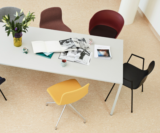 HAY New Order Table - 300x100cm. - Light Grey