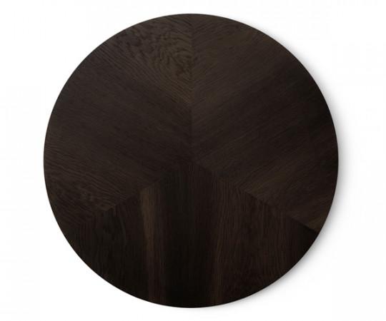 Vipp 423 Sofabord Ø60 - Mørk Eg