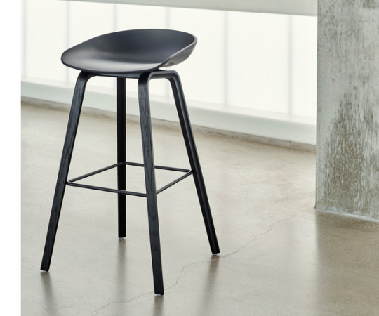 HAY About a Stool (AAS 32) Sort/Sort H:64cm
