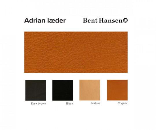 Bent Hansen Primum Lounge Stol - Adrian Læder