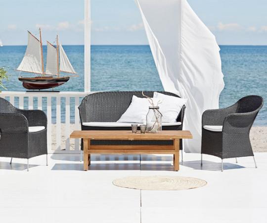 Sika Design Athene Loungesofa - Sort
