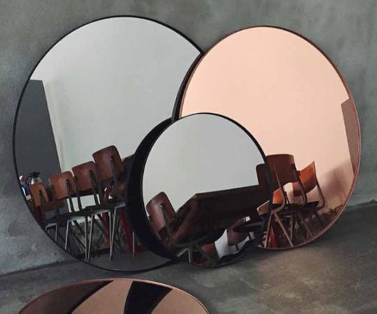 AYTM Circum Spejl - Large Ø90 - Rose