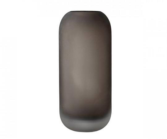 AYTM Hydria Glas Vase - High - Valnød