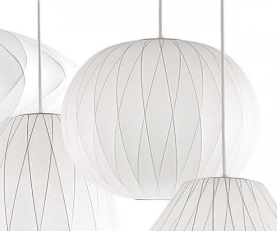 Herman Miller Ball Crisscross Bubble Lampe - Medium