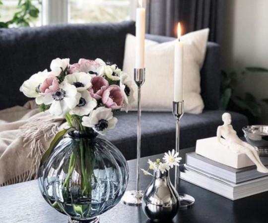 Louise Roe Balloon vase - 01 - Amber