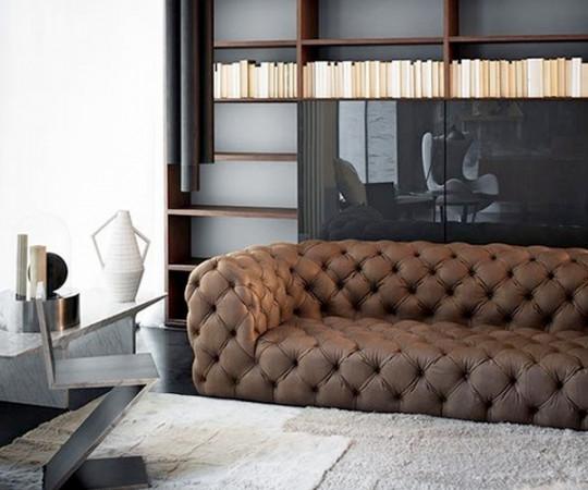 Baxter Chester Moon Sofa - 295cm