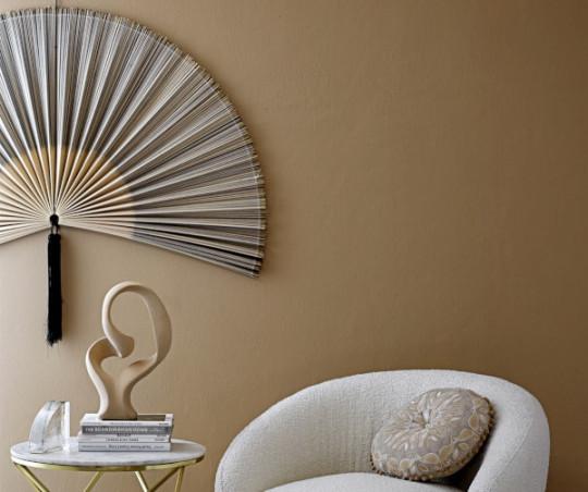 Bloomingville vægdekoration - bambus - 145 cm