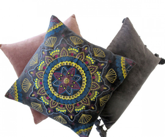 By Living Cph Rosa Velvet pude 50x50cm