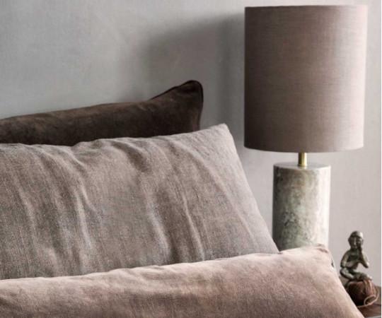 Cozy Living Ella Marble bordlampe - beige