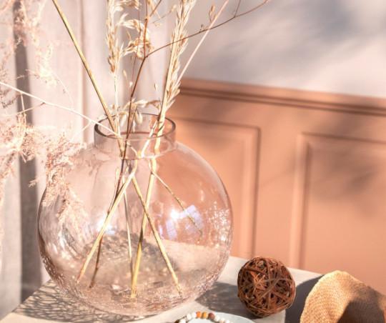 Cozy Living Arctic Globe vase - rouge