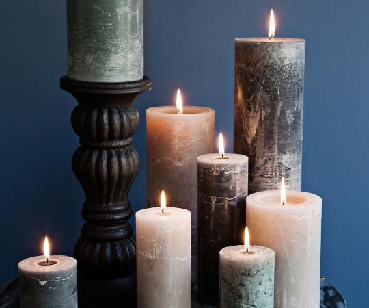 Cozy Living Antracit bloklys - medium - 15cm