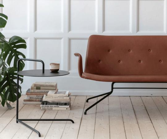 Bent Hansen Primum Sofa - Med Armlæn - Brun Davos Læder