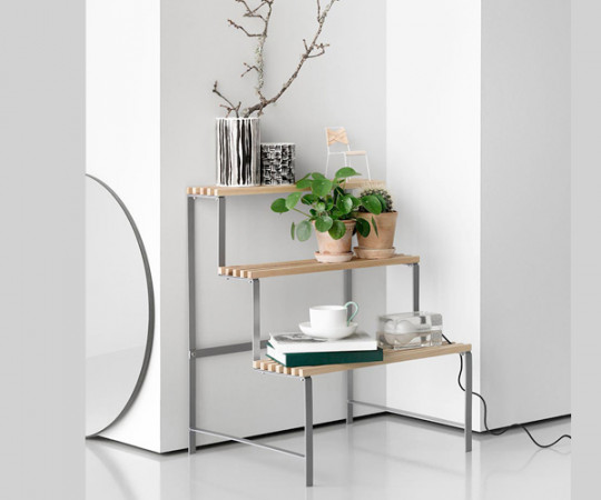 Design House Stockholm Flower pot stand - Natur