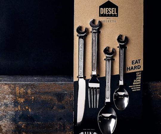 Seletti x Diesel DIY Cutlery - Bestik Kniv