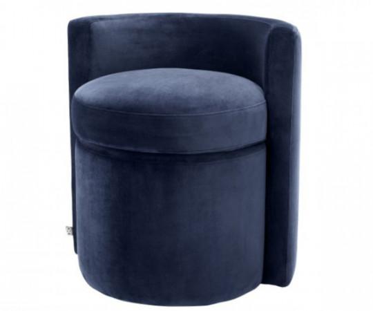 Eichholtz Arcadia stol - Savona midnight blue