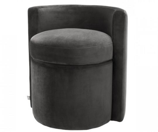 Eichholtz Arcadia stol - Roche dark grey