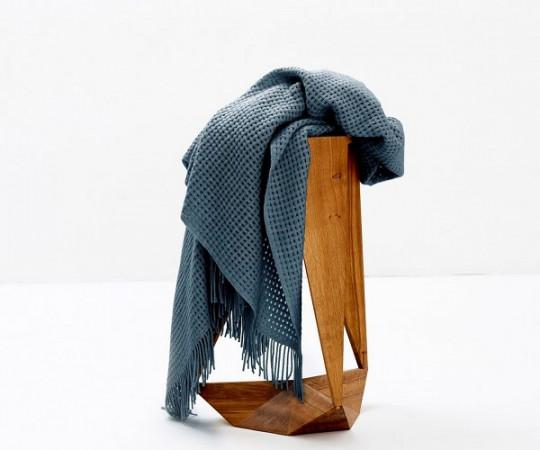 Elvang Basket plaid - Orion blue