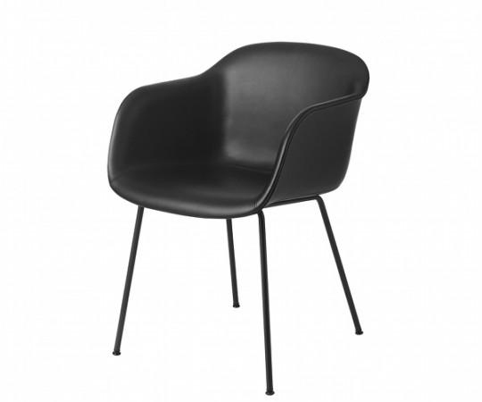 Muuto Fiber Chair Tube - Læder