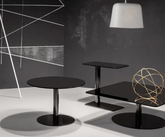 Tom Dixon Flash Table - Square - Black
