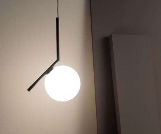 Flos IC Light S1 Pendel Lampe - Sort