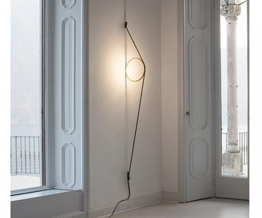 Flos Wirering Væglampe - Grå