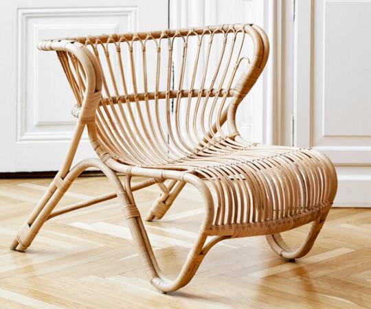 Sika Design Viggo Boesen Fox Loungestol - Natur