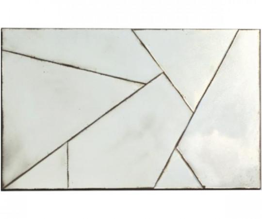 Geometric Antique spejl 120x75