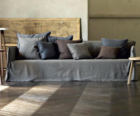 Gervasoni Ghost 14 Sofa -  Lino Bianco