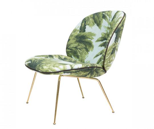 Gubi Beetle Lounge Chair - Pierre Frey Mauritius