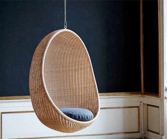 Sika Design Hanging Egg Chair - Indendørs - Natur