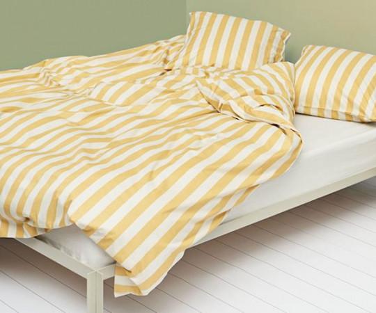 HAY Été sengesæt - warm yellow - 200x140cm