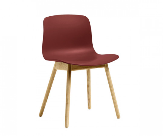 HAY About A Chair (AAC12) - Brick/Natur Eg