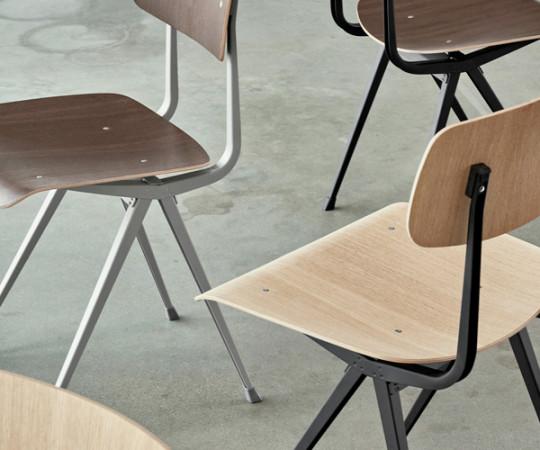 HAY Result Chair - Eg Mat Lak / Sort