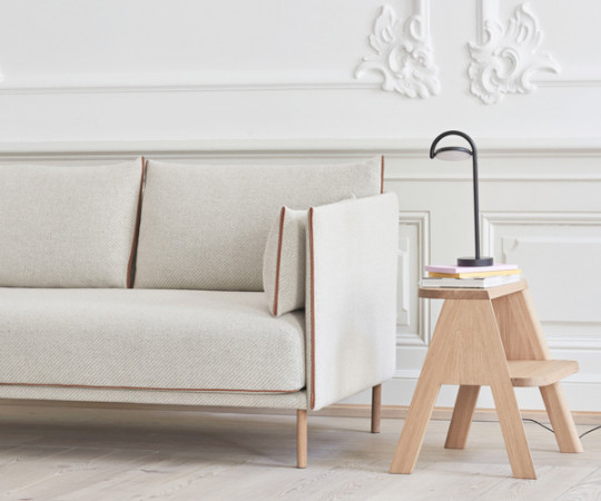 Hay Silhouette 2P Sofa - Lav Ryg - Coda 100 Stof