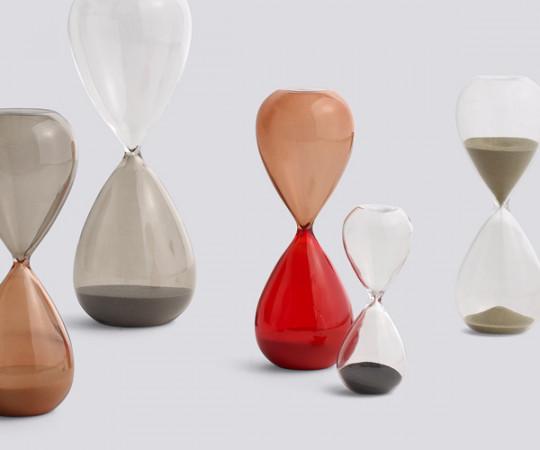 HAY Time Large Burnt Orange - Timeglas 30 Min.