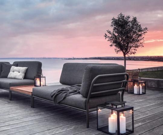 HOUE Level lounge sæt - 3 moduler