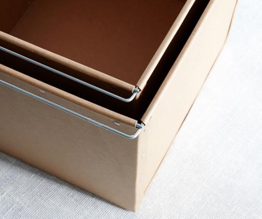 House Doctor Opbevaring - Box 1 - Brun (sæt a 2)