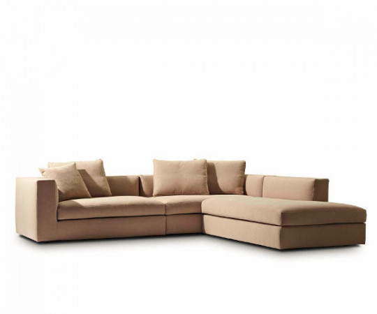 Juul 102 sofa med chaiselong - Gorse stof