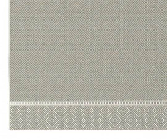 Lafuma Marsanne udendørstæppe - hegoa gris - 160x230